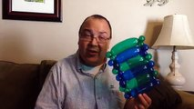 Single Layer Flat Weave Balloon Tutorial (Balloon Twisting and Modeling #1.2)