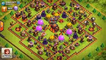 Clash of Clans - NEW UPDATE! FIRST EVER ATTACK ON NEW MAXED BASE! New Update Walls & Features!