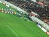 PSG-Nancy Entrée des joueurs