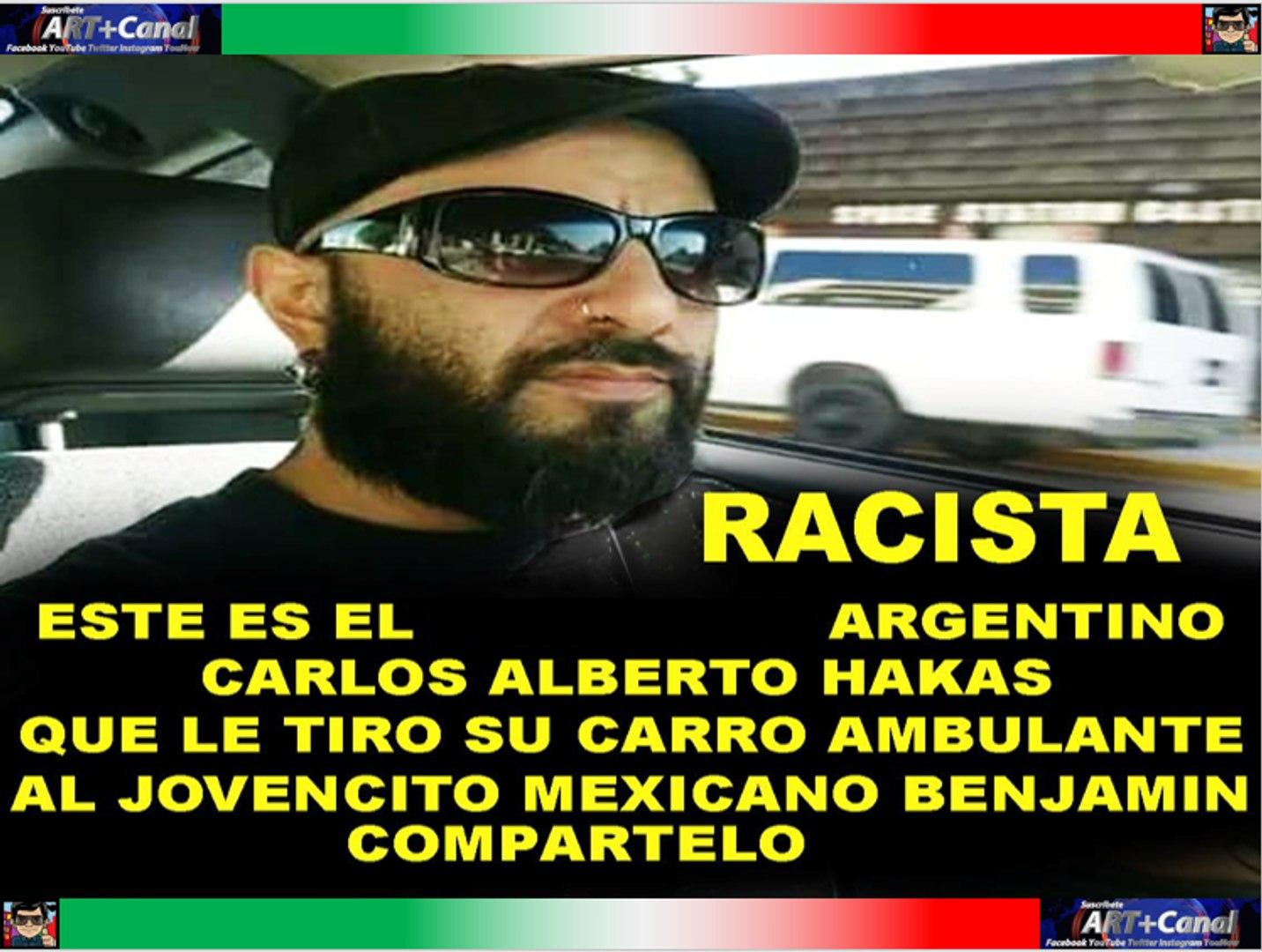 Este es el Argentino que enfurece y le tira su puesto de comida a mexicano porque obstruia su paso