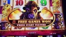 ★ HOT SLOT MACHINES ★ BUFFALO GOLD SLOT MACHINE BIG BONUS WIN! | Slot Traveler