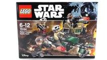 LEGO Star Wars Rogue One Set 75164 Rebel Trooper Battle Pack Unboxing & Review deutsch