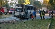 Mersin'de Polis Servis Aracına Bombalı Saldırı Düzenlendi