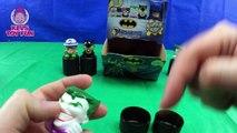 Batman Mashems Series 1 - Batman Charers Joker Harley Quinn Catwoman Riddler Toys KevsToyFun