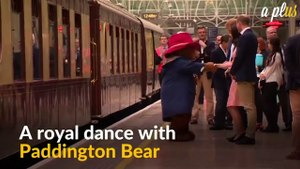 Paddington Bear Shares A Dance With UK Royal Kate