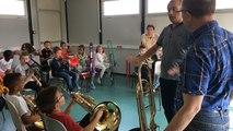 Une classe orchestre à l'école Jules Ferry