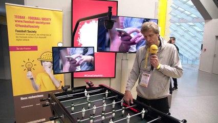 Foosball, le baby-foot connecté (TV)