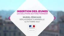 Déplacement de Muriel Pénicaud à Marseille sur l'insertion professionnelle