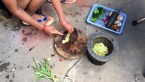 Amazing Beautiful Girl Cooking - Crab & Snail Recipes - Best Fried Crabs & Snails In My Village