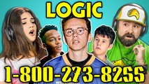 ADULTS REACT TO LOGIC - 1-800-273-8255