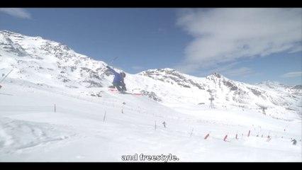Ski NOIR FREESTYLE - PUNX FIVE ATOMIC - Location ski Intersport 2017 2018