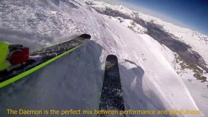 Ski FREERIDE - BLACK CROWS DAEMON - Location ski Intersport 2017 2018