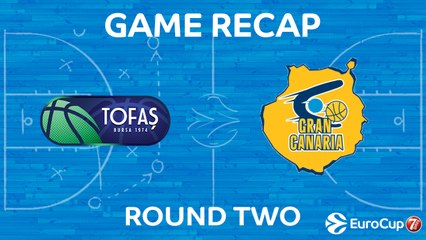 7Days EuroCup Highlights Regular Season, Round 2: Tofas 98-94 Gran Canaria