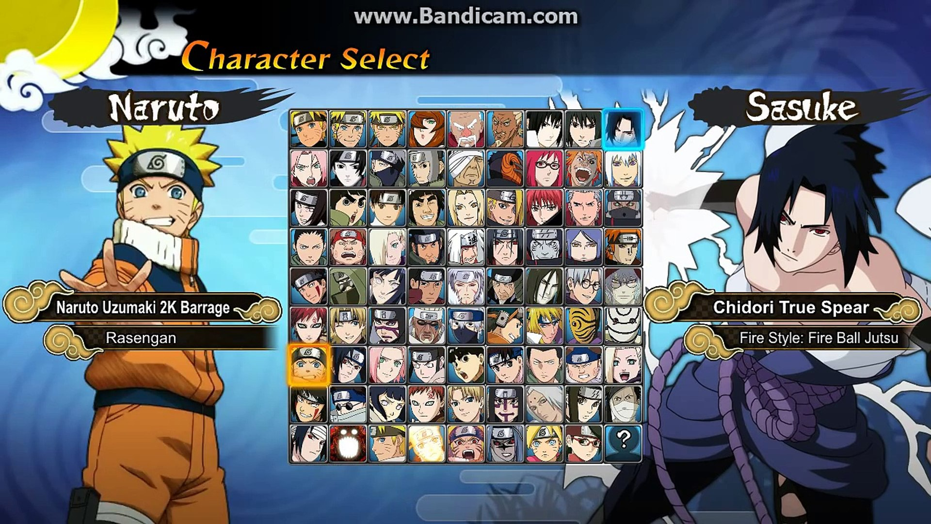 Game Test Naruto Generations M U G E N 2017 Video Dailymotion