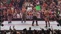 John Cena & Shawn Michaels vs. Undertaker & Batista - Raw