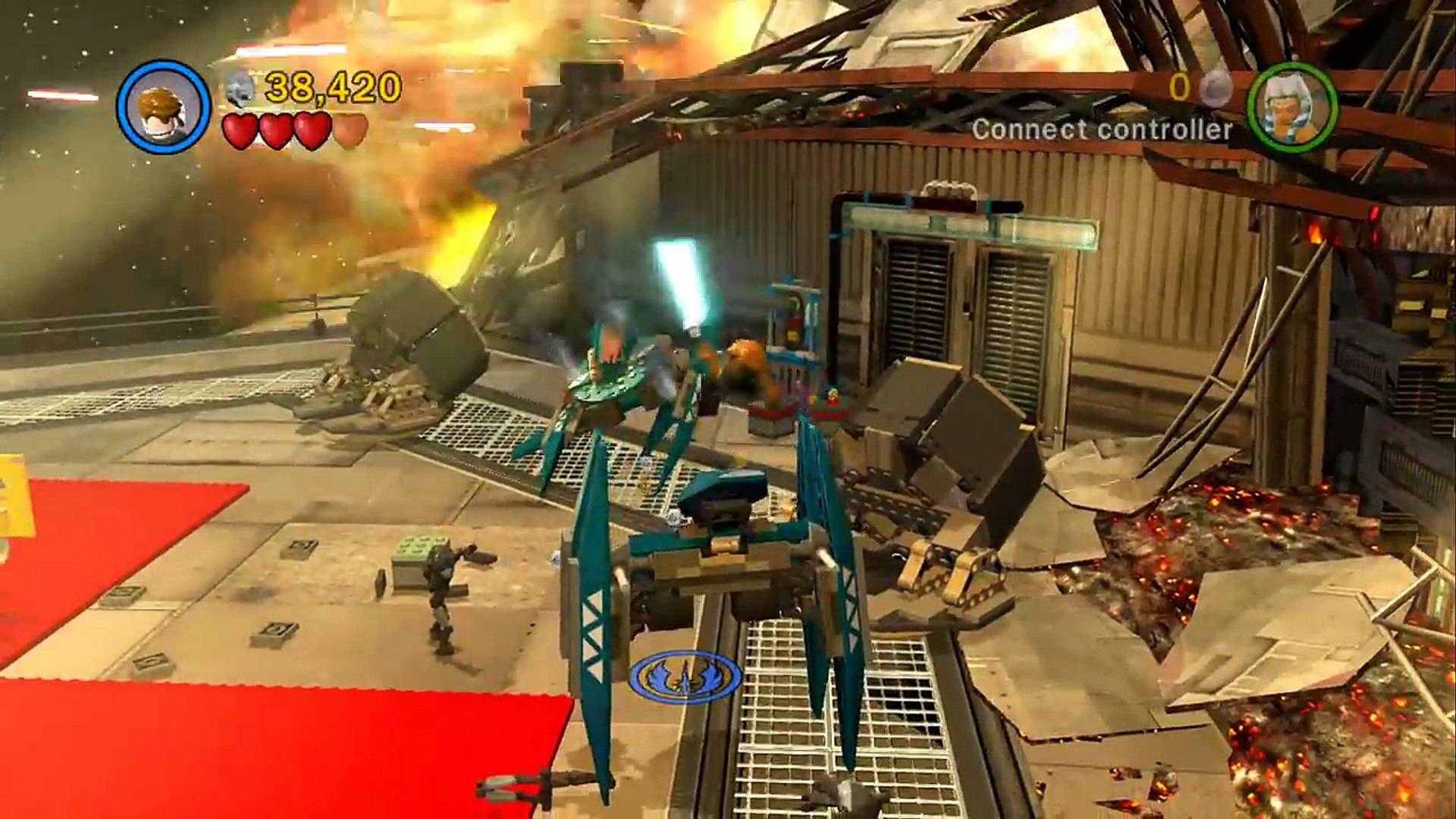 Lego Star Wars I The Clone Wars Walkthrough Part 17 Storm Over Ryloth Video Dailymotion