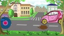 Araba. Arabalar hakkında çizgi filmler. Çocuklar için çizgi filmleri