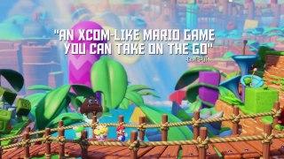Mario Rabbids Kingdom Battle Launch Trailer Nintendo Switch