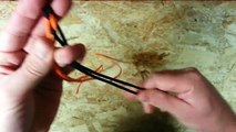 How To Tie A Four Strand Round Braid Paracord Survival