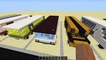 МАШИНЫ в Майнкрафт - 35 МАШИН В MINECRAFT (КАРТА) Без модов