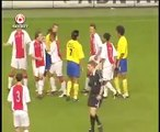 Epic Funny Football Goal and Fairplay at Ajax Amsterdam Soccer Match-OQLtbp7_h9w