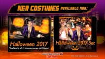 Dead or Alive 5 Last Round - Halloween Costume Set 2017 Trailer