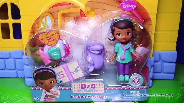 DOC MCSTUFFINS Disney Jr Doc McStuffins and Mr Chomp YouTube Toy Review