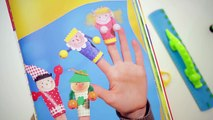Marionette di carta per bambini da dito: tutorial fai da te
