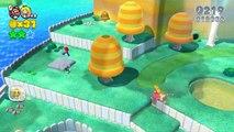 Super Mario 3D World: 2P Co-Op! - Cats & Crowns PART 1 (Nintendo Wii U HD Gameplay Walkthrough)