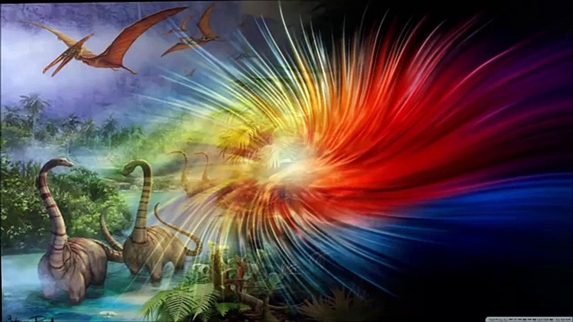 НЕВИДАННОЕ ЧУДОВИЩЕ. Динозавры. Борьба с неизведанным. Мультик для детей.
