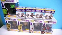 Funko Pop! Guardians of the Galaxy - Groot, Dancing Groot, Gamora, Drax, Star-Lord - Mystery Minis