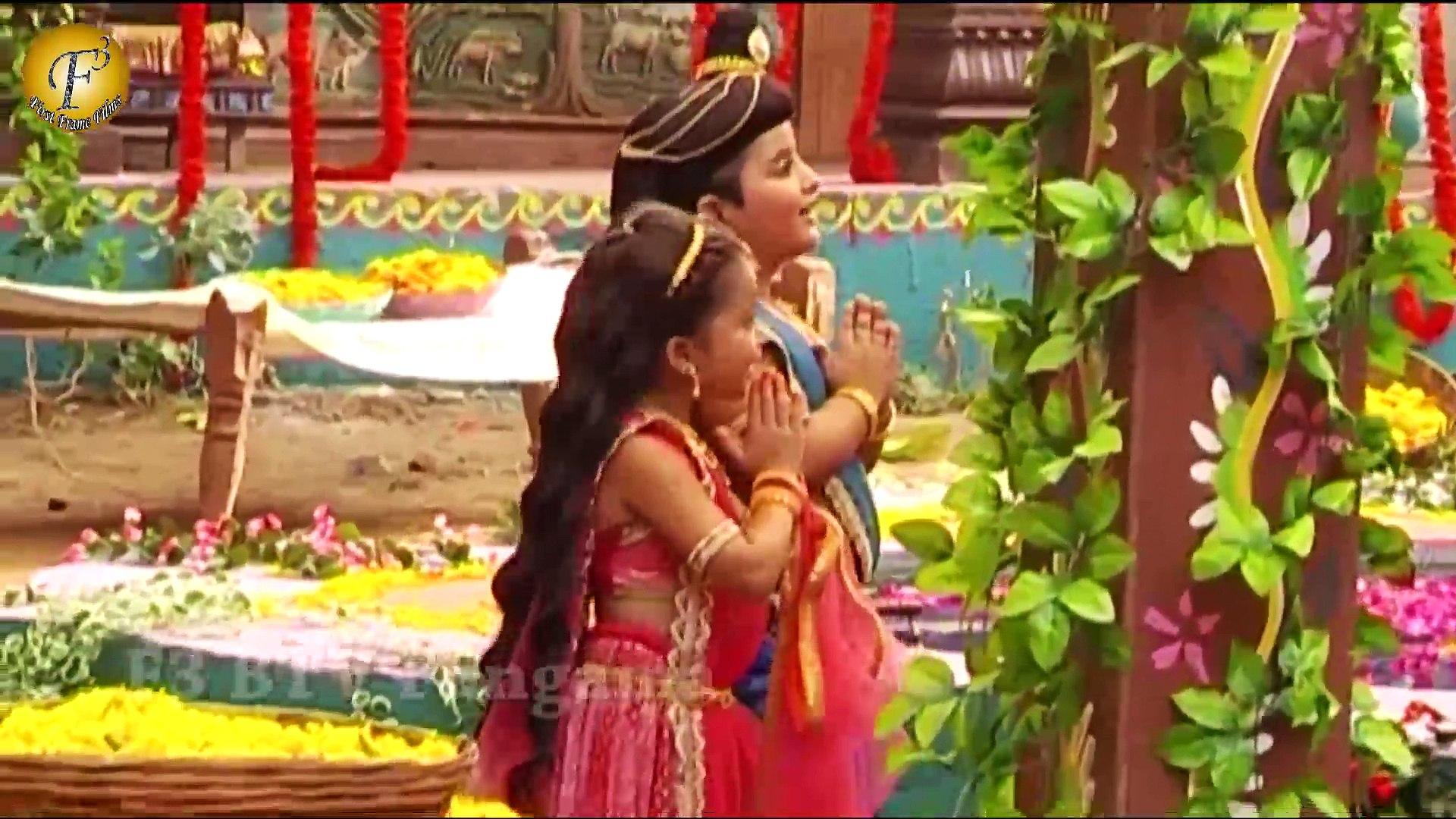 Paramavatar Shri Krishna - राधा और कृष्णा ने की संग-संग पूजा | In &Tv Show  Paramavatar Shri Krishna