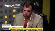 """Familles françaises en Syrie : beaucoup de femmes """"ont réalisé le piège dans lequel elles étaient tombées"""""""