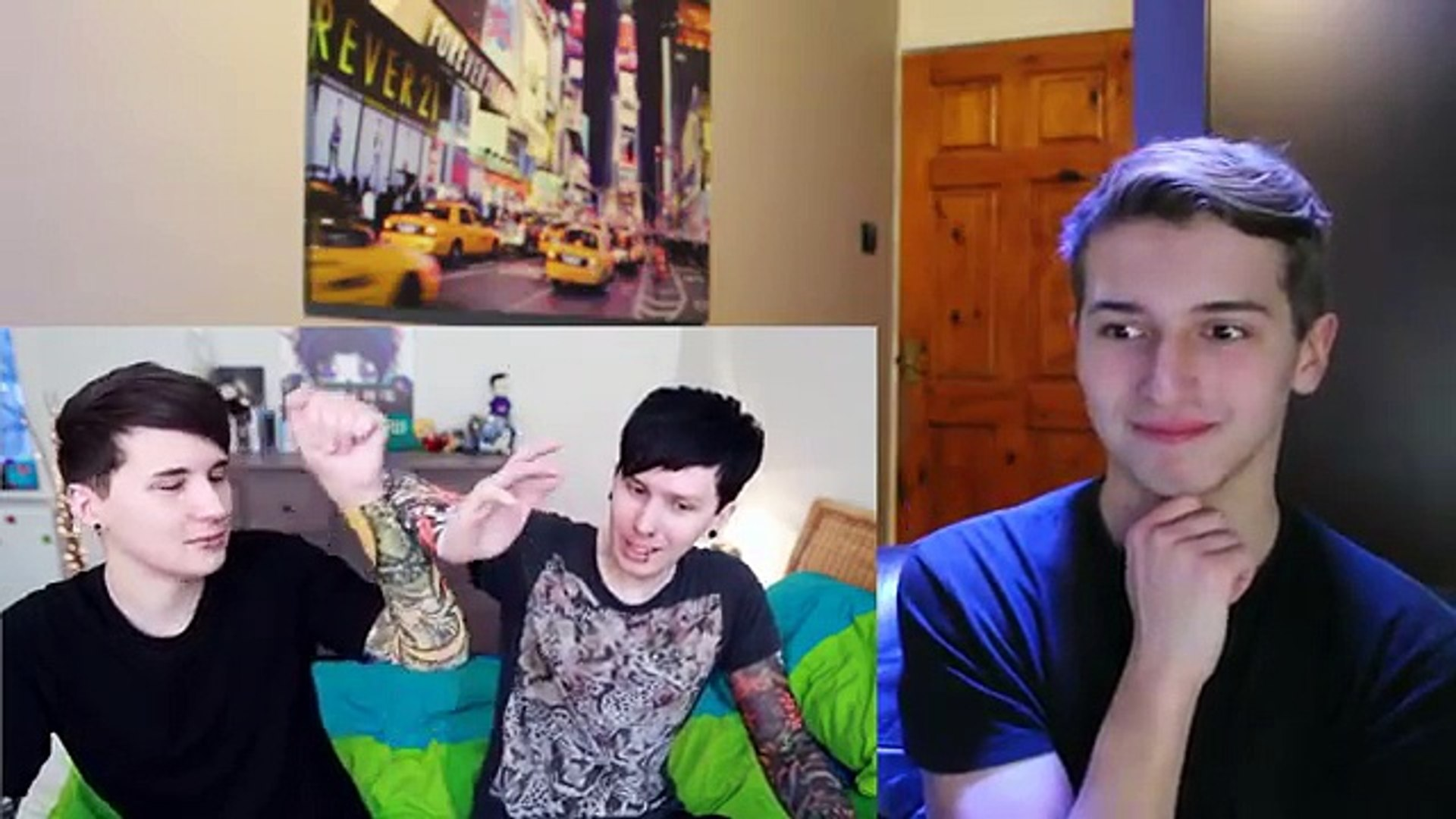 Dan and Phil PUNK EDITS IN REAL LIFE Reion