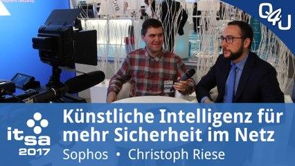 it-sa 2017: Künstliche Intelligenz für mehr Sicherheit im Netz - Sophos | QSO4YOU Tech