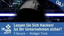 it-sa 2017: Lassen Sie sich hacken! - F-Secure | QSO4YOU Tech