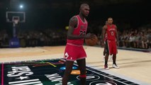 BEST SLAM DUNK CONTEST EVER? Michael Jordan, Dominique Wilkins, Julius Erving, Vince Carter NBA 2K15