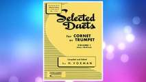 Download PDF Selected Duets for Cornet or Trumpet: Volume 1 - Easy to Medium (Rubank Educational Library) FREE