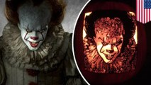 Pennywise is taking Halloween art to a whole new level