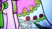 Coloring Pages MLP Pinkie Pie Coloring Books l Peppa Pig Drawing Pages Videos For Kids Learn Colors