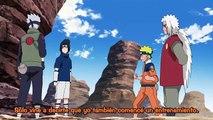 Minato y Jiraiya entrenan con Naruto el Rasengan  Kakashi le enseña el Chidori a Sasuke