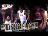 Shareef O'Neal FEASTING in CRAZY FINISH at SPACE JAM ARENA! Tour + Full Game Highlights