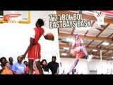 "7'2"" Bol Bol WINDMILL & EASTBAY DUNK in AAU GAME with EASE! STILL A CHEAT CODE BRUH"