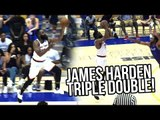 James Harden TRIPLE DOUBLE In Drew League Playoffs! Marvin Bagley Dunking EVERYTHING!