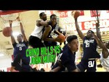 Chino Hills SECOND GAME WITHOUT LAMELO! Big O vs LEFTY SHARPSHOOTER! Andre Ball Shows Off HANGTIME