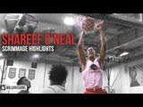 Shareef O'Neal Posterizes in Preseason Scrimmage! | Full Highlights (4.5 Dunks)