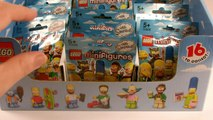 Simpsons Lego Minifigures: Opening Complete Set Series 1 Blind Bags Simpsons Lego Minifigures