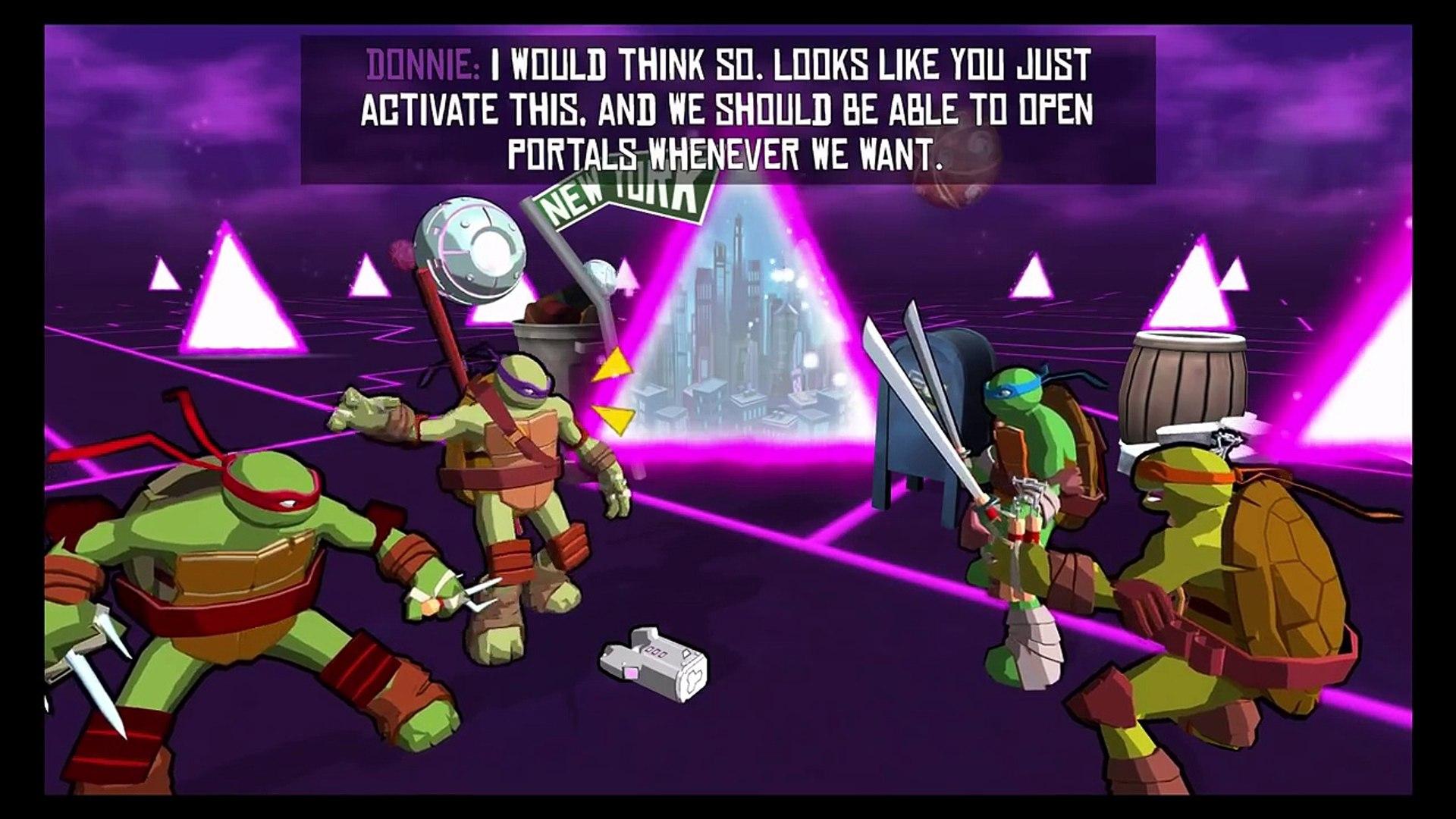 TMNT - Portal Power - Nickelodeon Games
