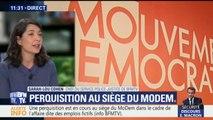 Perquisition au siège du MoDem à Paris : que cherchent les enquêteurs dans l'affaire des attachés parlementaires ?