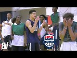 Team USA Keeps Forgetting 4v4 Drill Rules | USA Basketball Junior Men's Camp 2016